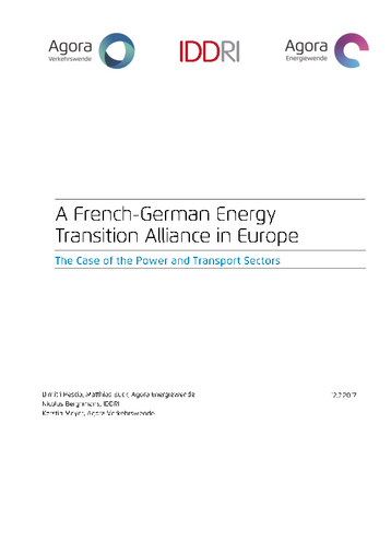 The Case of the Power and Transport Sectors