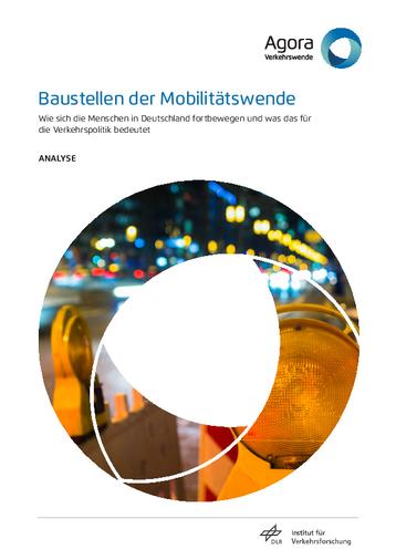 Wie sich die Menschen in Deutschland fortbewegen und was das für  die Verkehrspolitik bedeutet